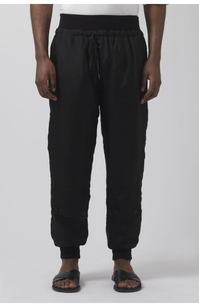 Andrew Unisex Silk Trousers