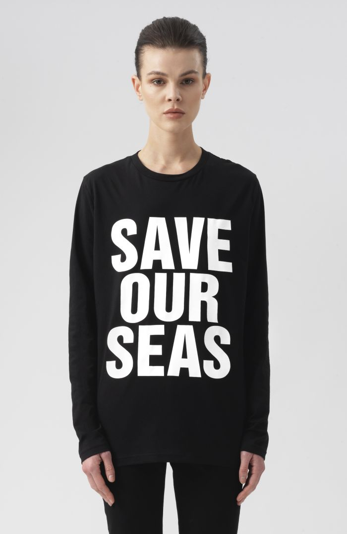 Save our Seas Long Sleeves T-Shirt