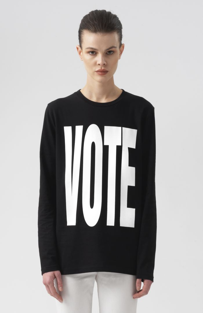 Vote Long Sleeves T-Shirt