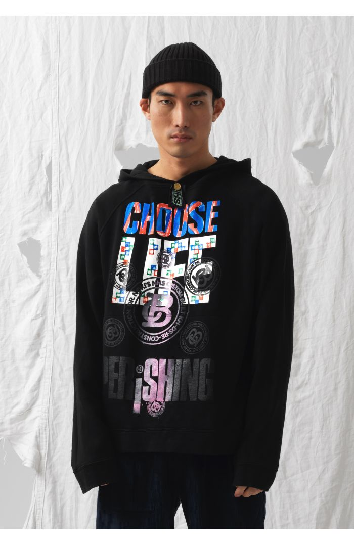 Choose Life Upcycled Sweatshirt