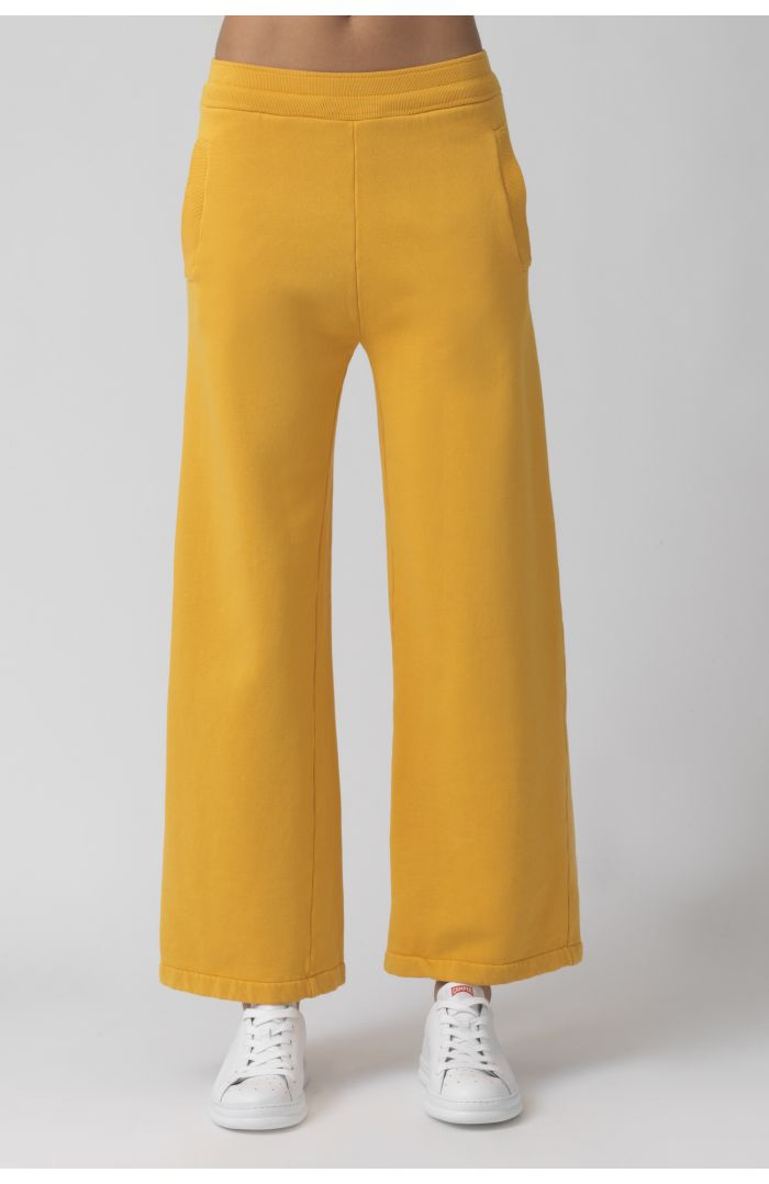 Vale Yellow Organic Cotton Trackpant