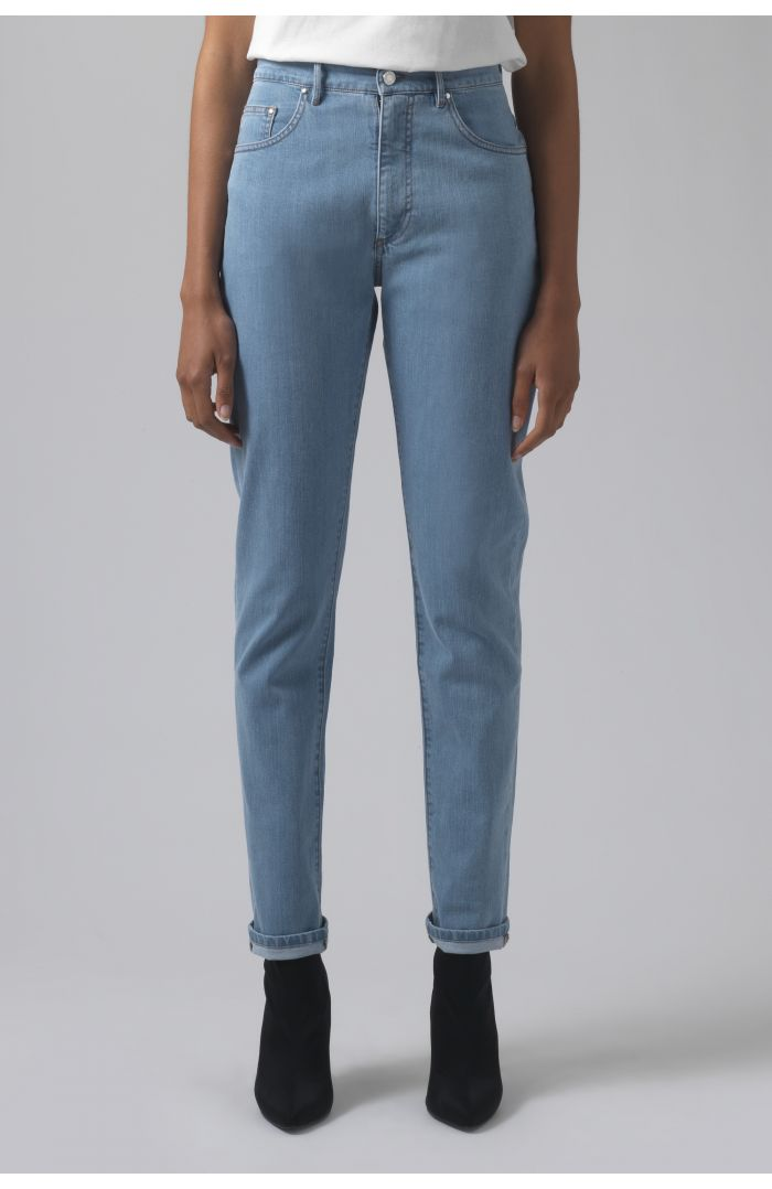 Patsy light wash organic cotton jeans