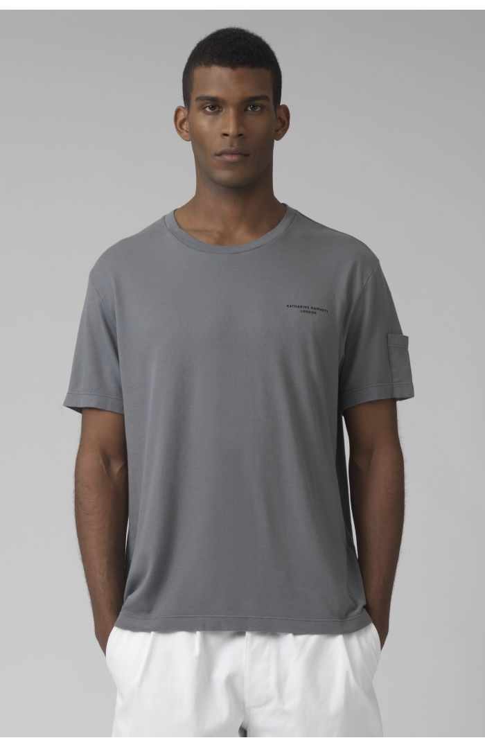 Ivan grey organic cotton t-shirt