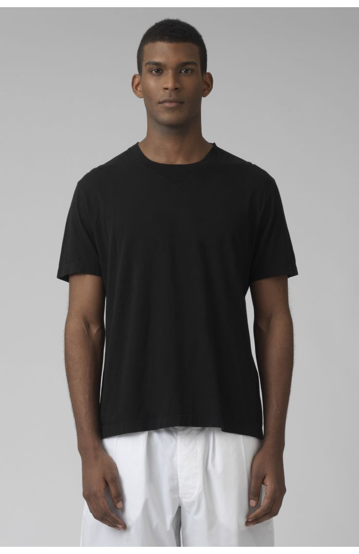 Ivanoe black organic cotton t-shirt