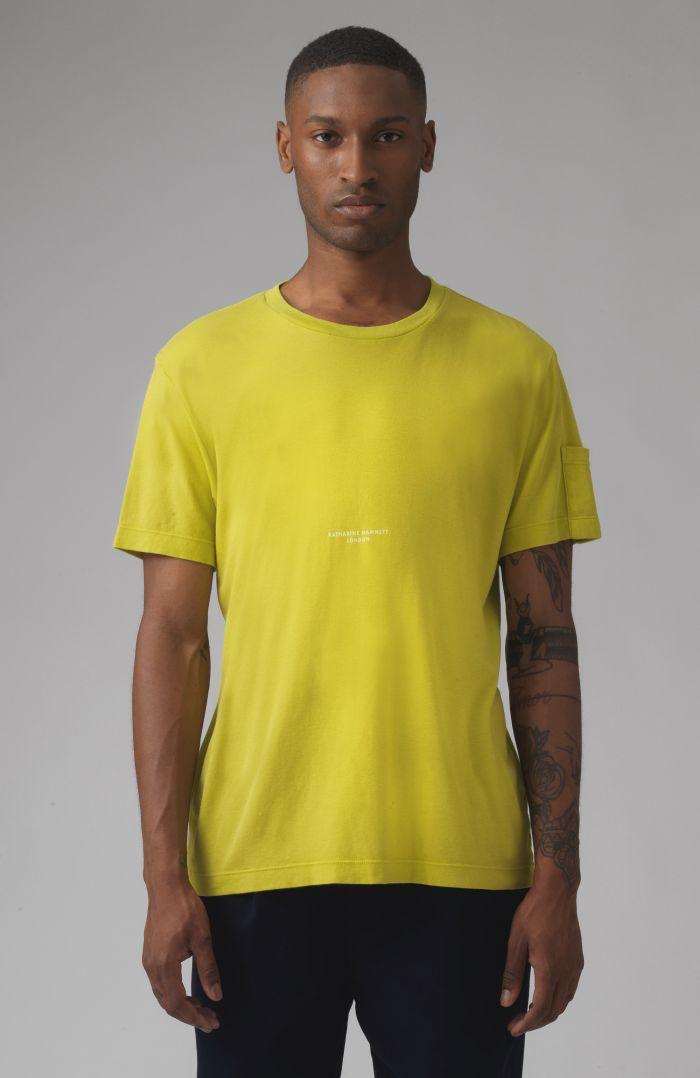 Ivan pistachio organic cotton t-shirt