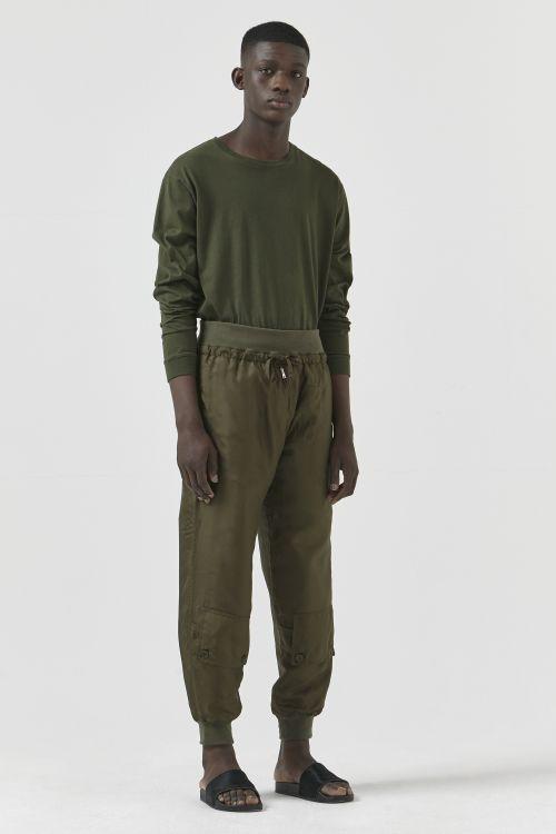 Andrew Unisex Silk TrouserS