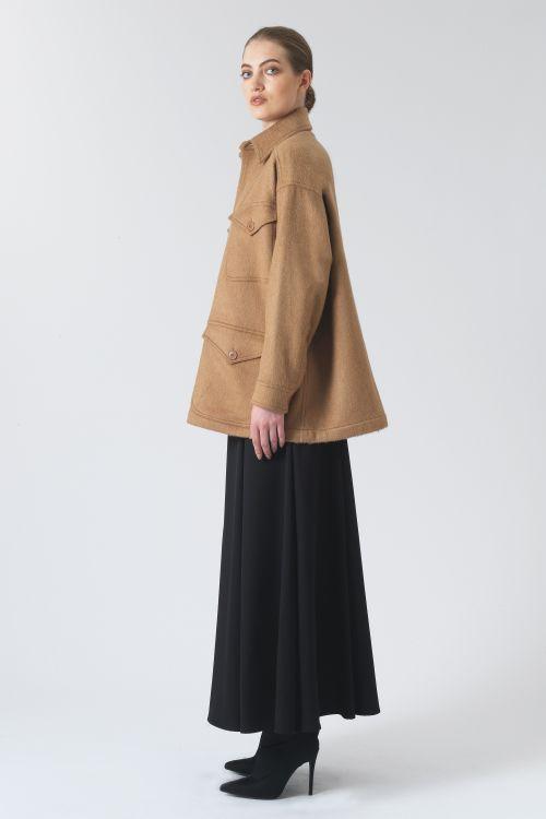 Kate Regenerated Camel Jacket
