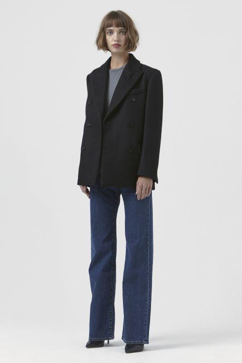 Olivia Black Wool Jacket