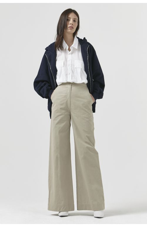 ANNA SAND ORGANIC COTTON TROUSERS