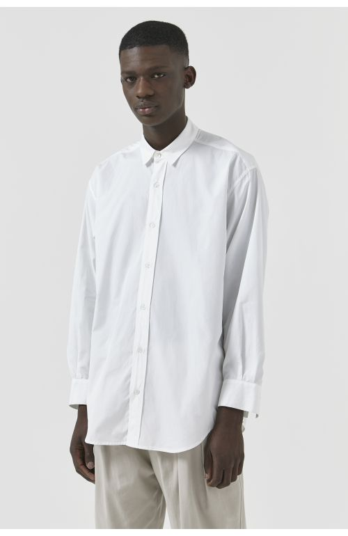 Nicola White Organic Cotton Shirt