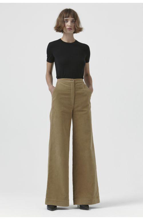 Anna Moleskin Trousers