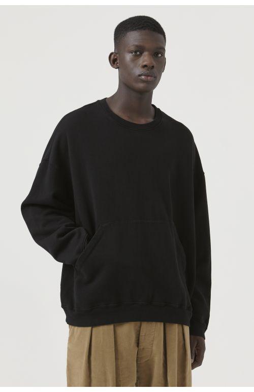 Joey Black Organic Cotton Sweatshirt