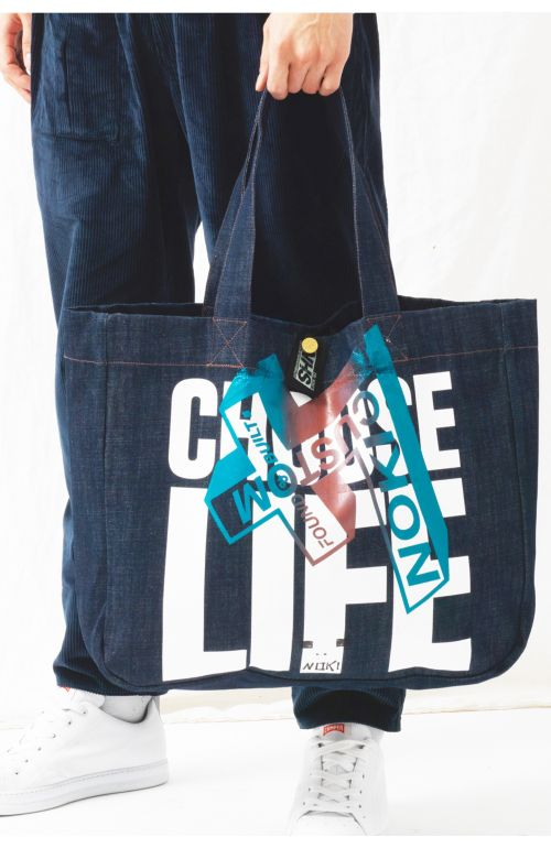 Choose Life Upcycled Bag