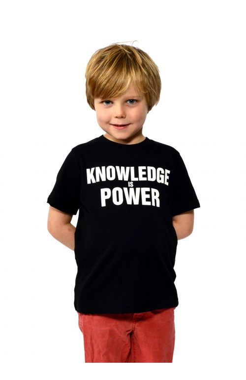 Knowledge Is Power Short Sleeve T-Shirt