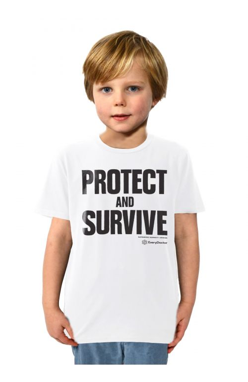 PRE-ORDER PROTECT AND SURVIVE SHORT SLEEVE T-SHIRT