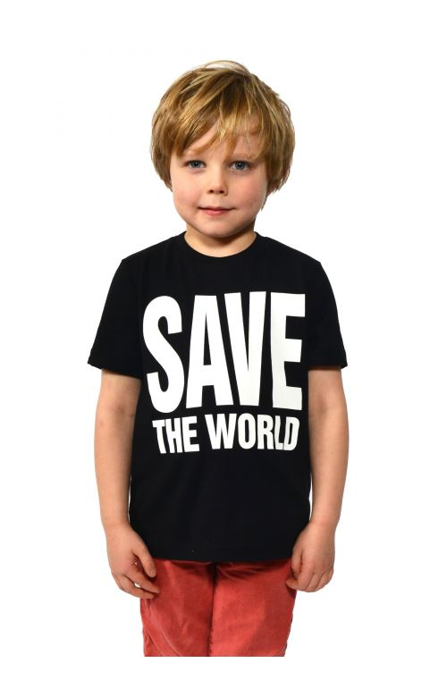 Save The World Short Sleeve T-Shirt