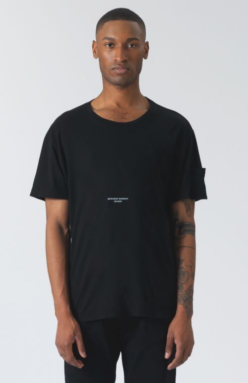 Ivan black organic cotton t-shirt