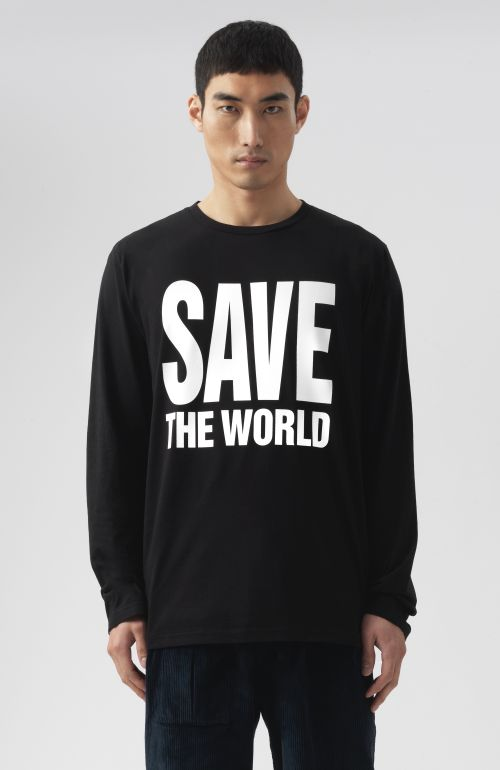 Save The World Long Sleeves T-Shirt