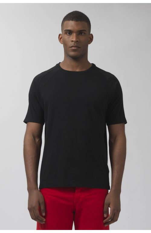 Nino black organic cotton t-shirt