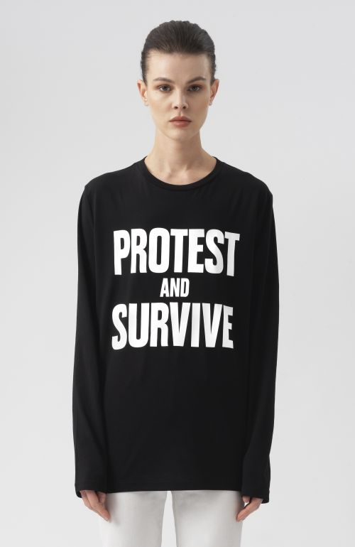 Protest And Survive Long Sleeves T-Shirt