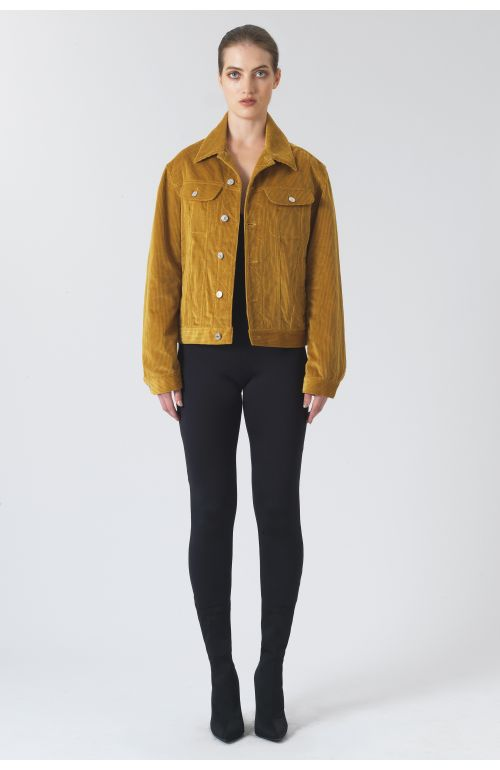 Keith Yellow Organic Cotton Jacket