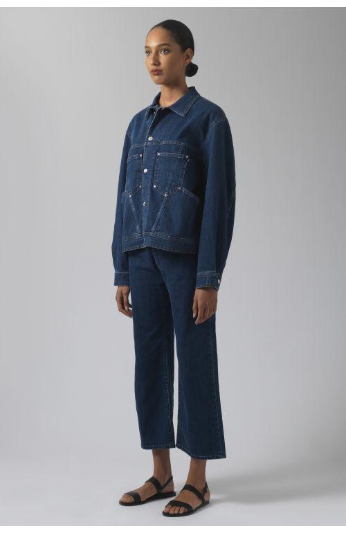 Coline Medium wash denim jacket