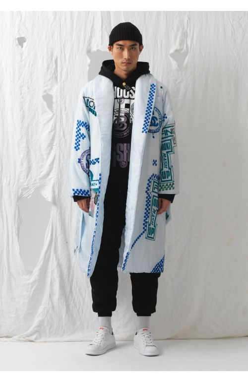 Charlie Silk Upcycled Dressing Gown