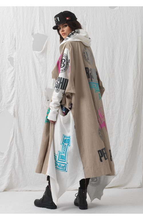 Upcycled Oversized Coat