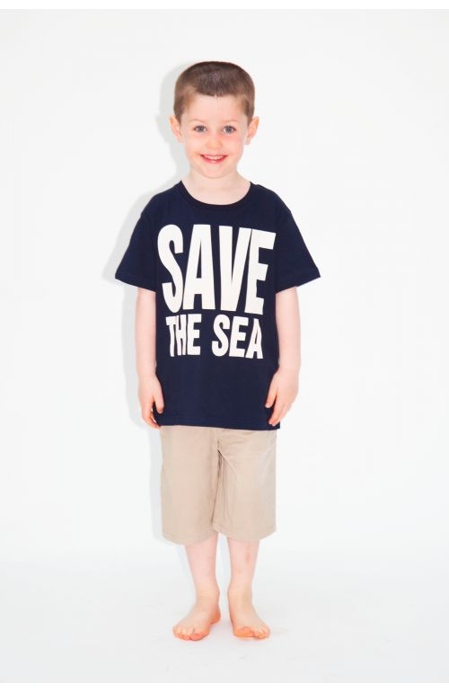 SAVE THE SEA ORGANIC COTTON T-SHIRT