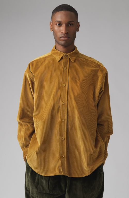 Nicola Yellow Corduroy Shirt