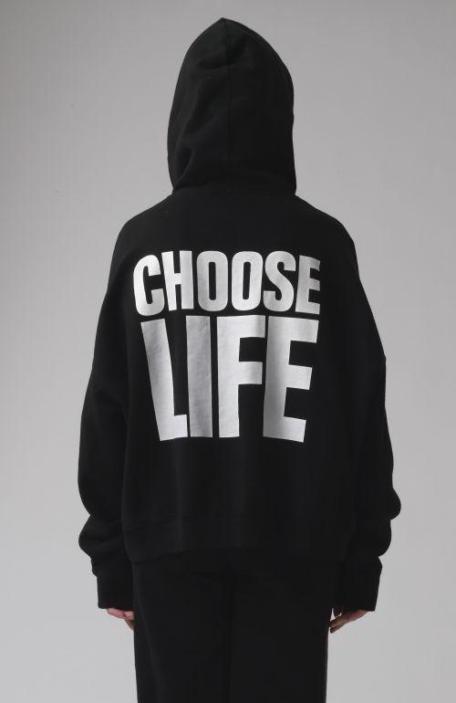 Georgia Choose Life Black Hoodie