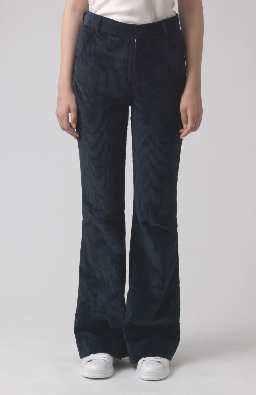 Marina Navy Oragnic Cotton Trousers