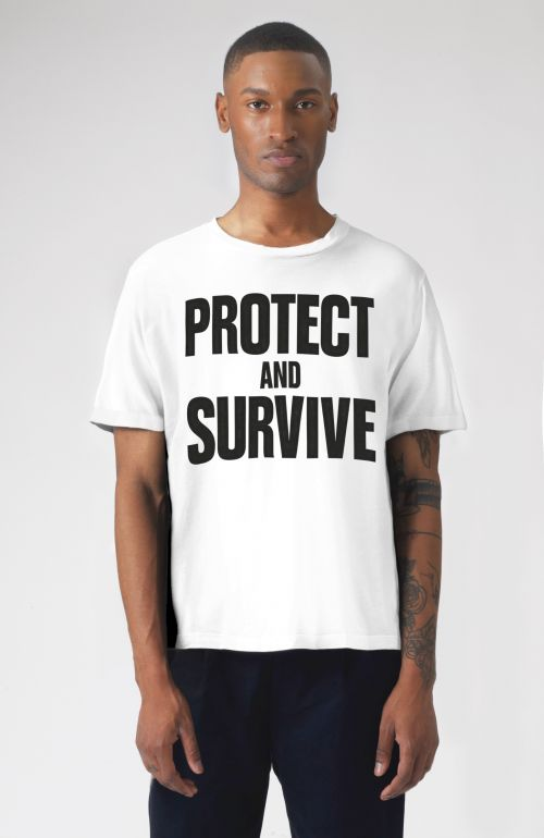 PROTECT AND SURVIVE SHORT SLEEVE T-SHIRT