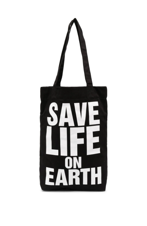 SAVE LIFE ON EARTH BLACK BAG