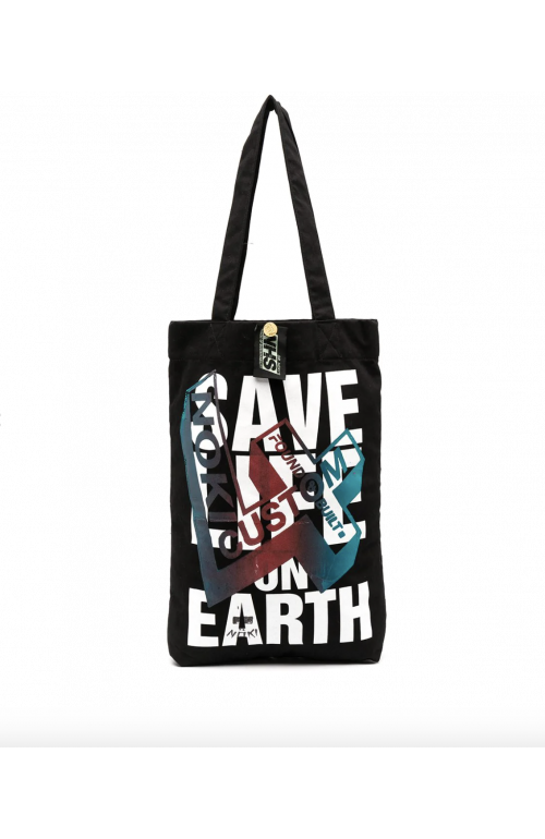 Save life on earth Upcycled Bag