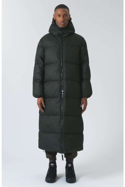 Claude Green Recycled Polyester Parka