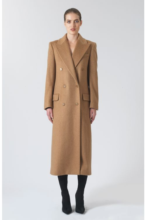 Simona Regenerated Camel Hair Coat