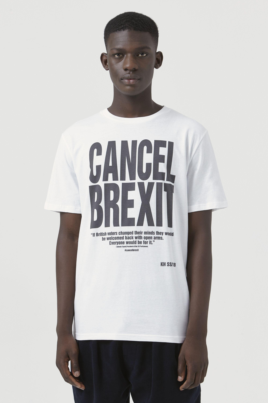 c7cd740b8 Cancel Brexit T-Shirt - by Kaharine Hamnett London