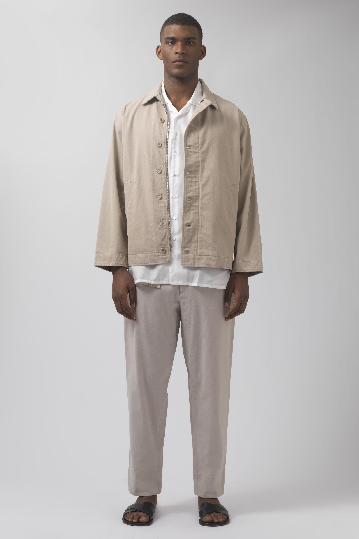 34e444ca8c5ce Katharine hamnett london freddy sand organic cotton jacket jpg 2000x3000  Organic cotton hamnett andrea katharine mens
