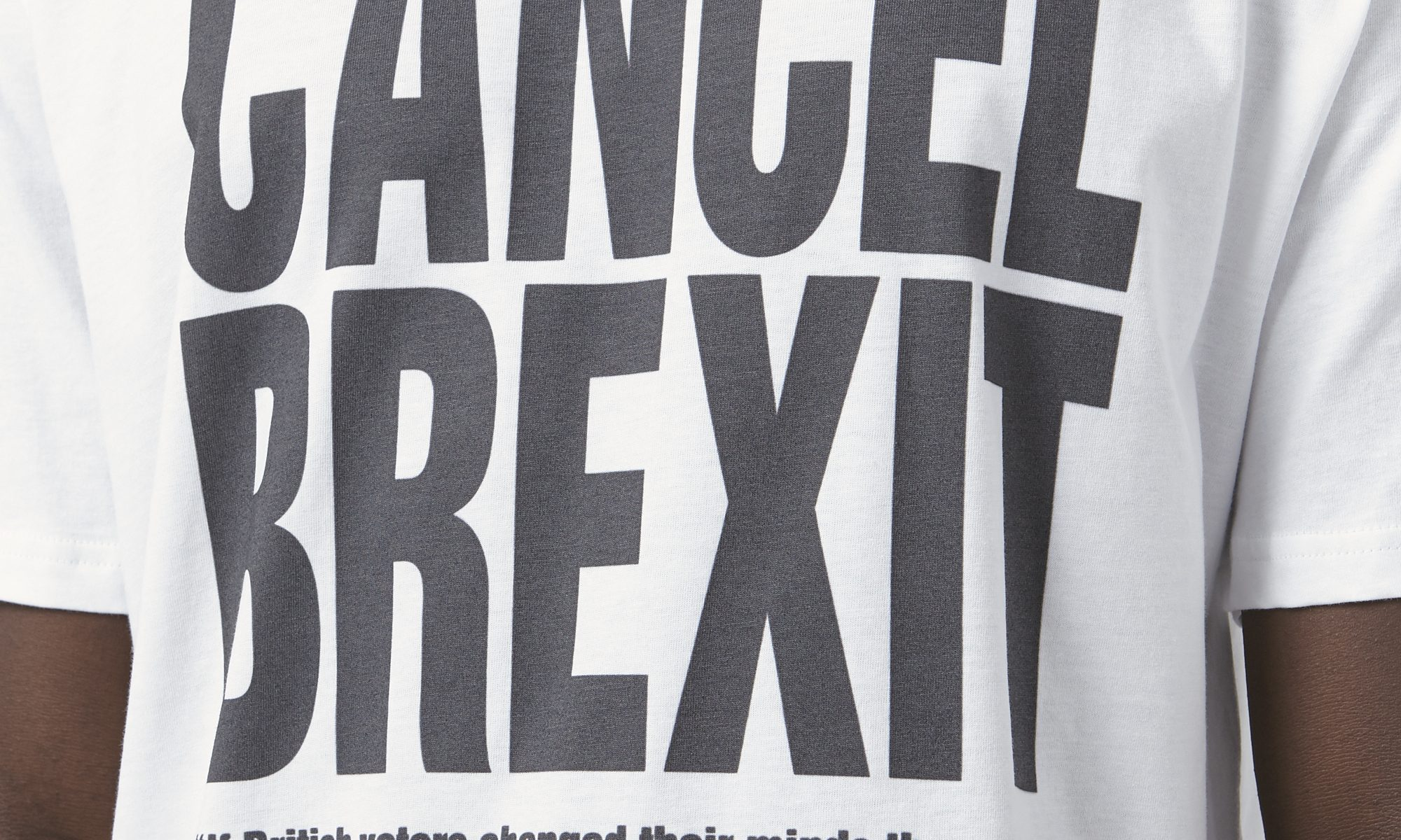 2923293c8c From Victoria Beckham coming home to the must-have Brexit T-shirt.