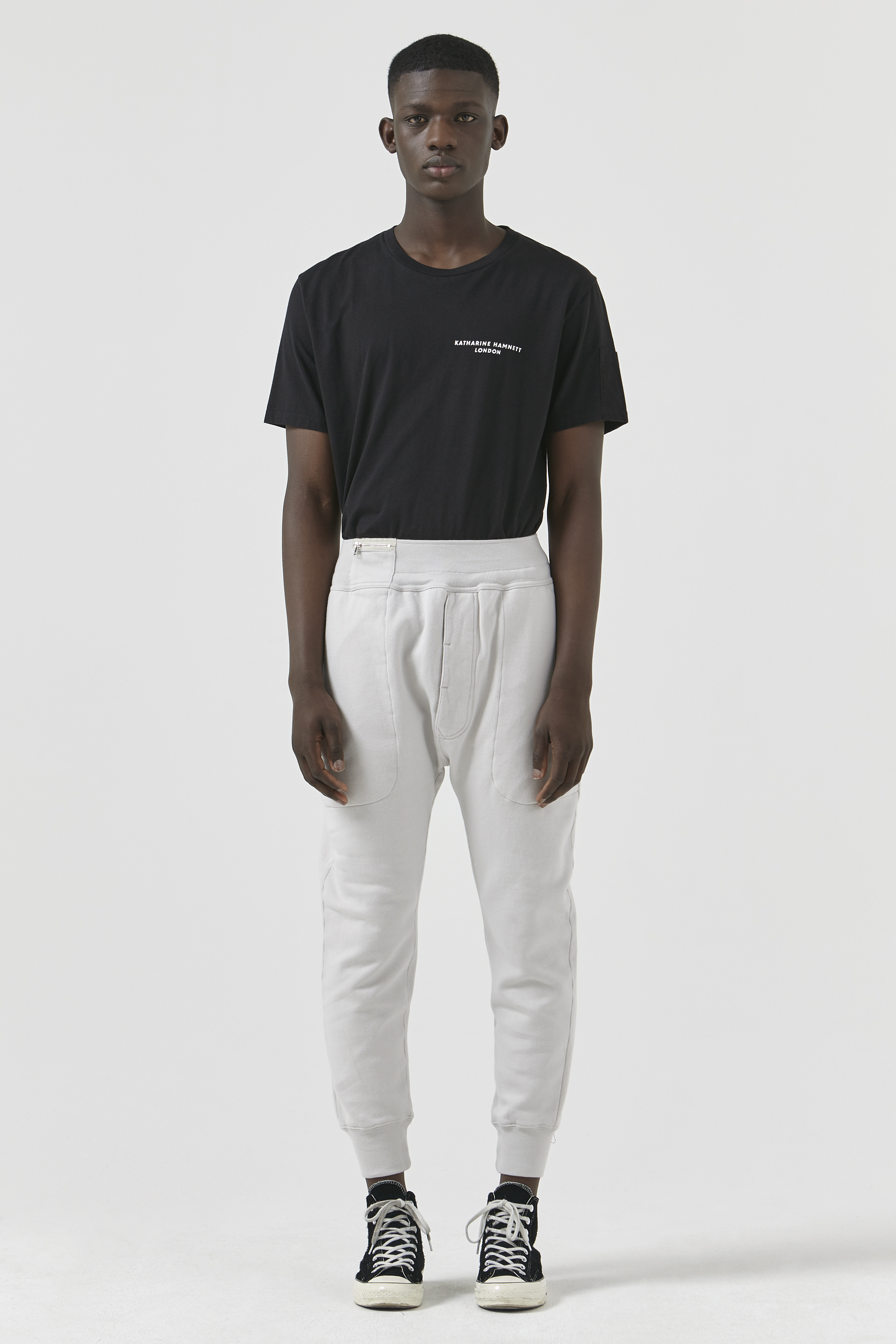 Jerry Organic Cotton Stone Trackpant
