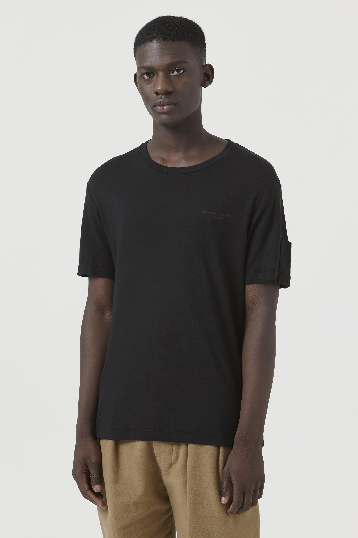 Ivan Black Organic Cotton Logo T-Shirt