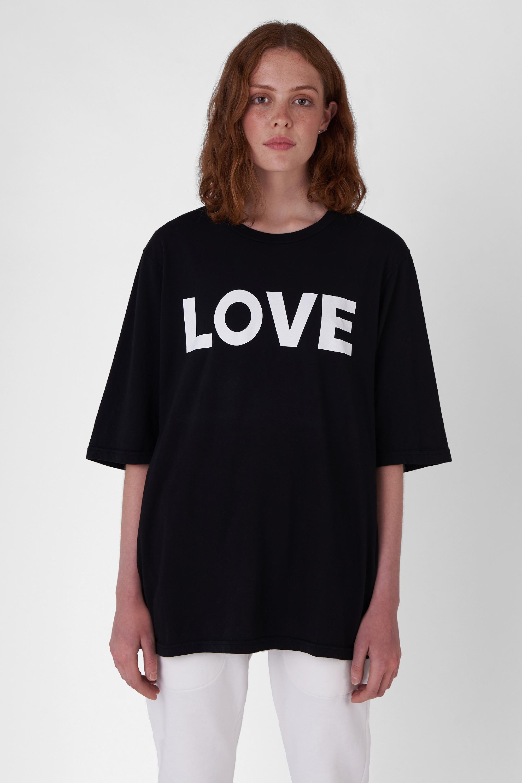 George black organic cotton t-shirt