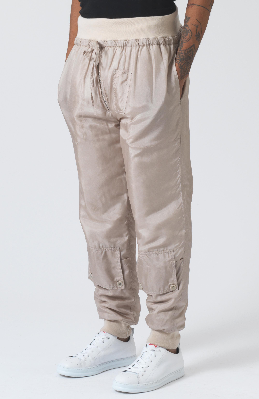 Paddy Sand Silk Trackpants