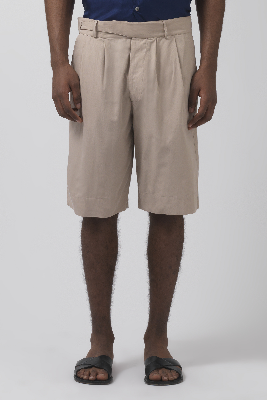 Cedric sand organic cotton shorts