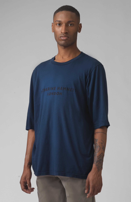 George Blue oversized organic cotton t-shirt