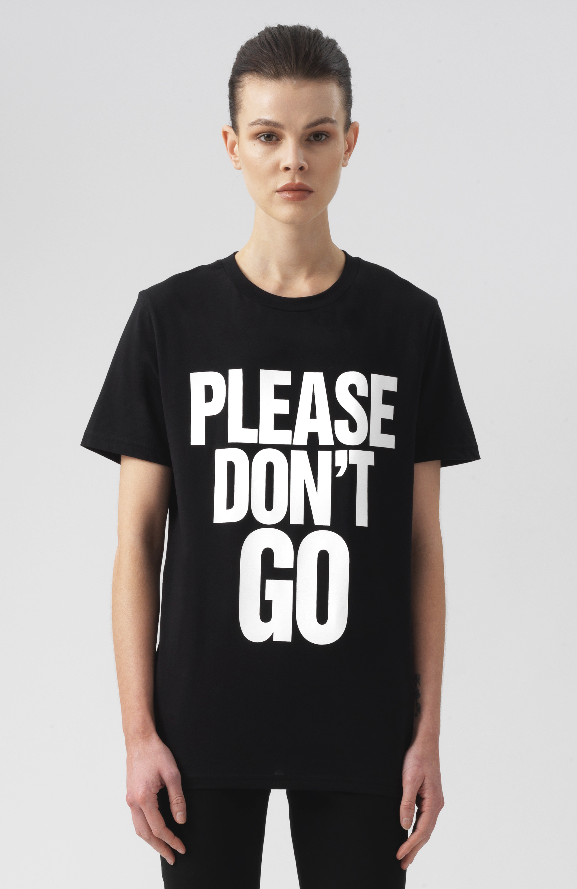 Please Don't Go short Sleeves T-Shirt