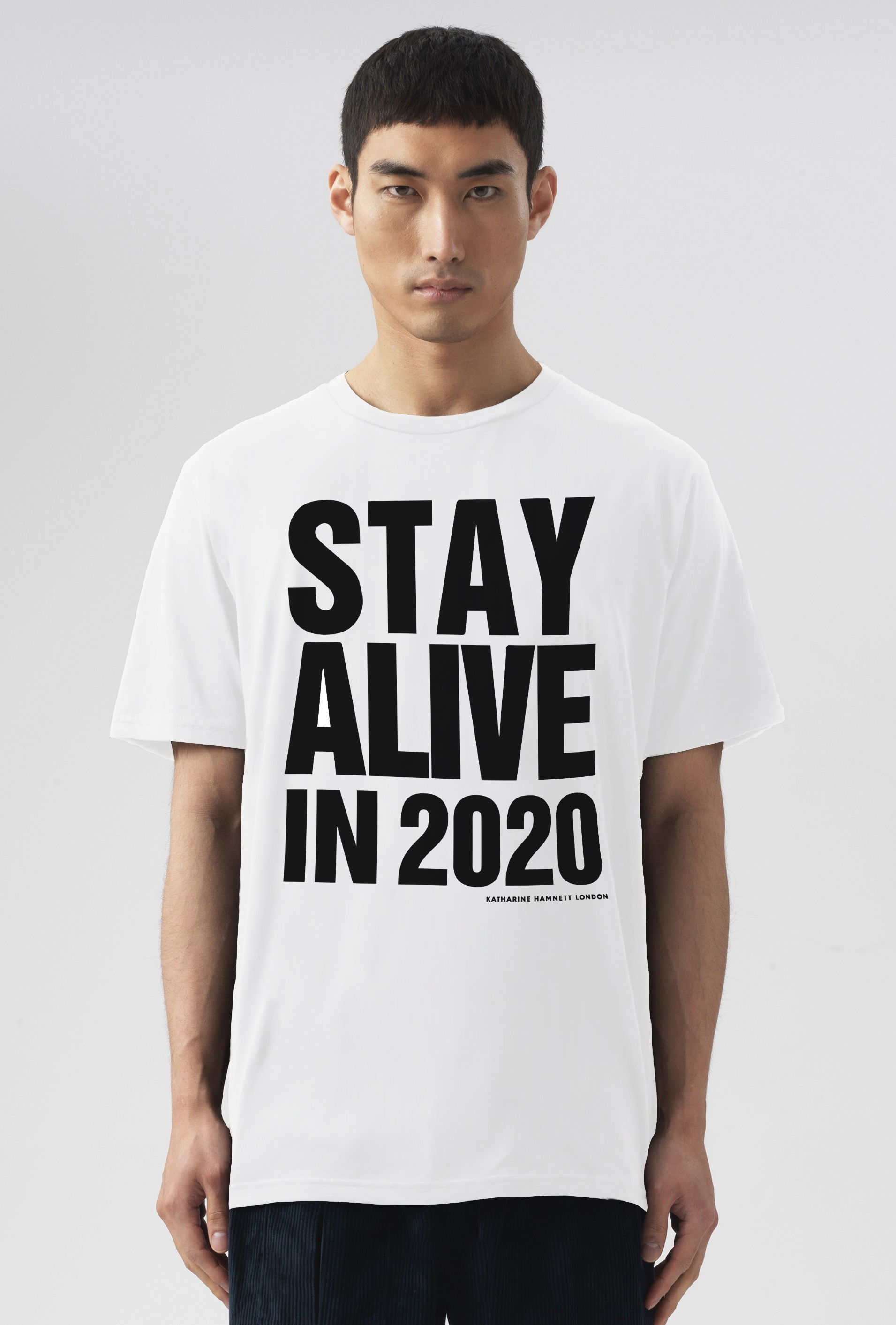 Stay Alive In 2020 Short Sleeve T-Shirt